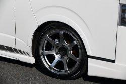 画像3: ライトスピード&タイヤセット[8.5J(DBK)&H20 225/50R18セット]